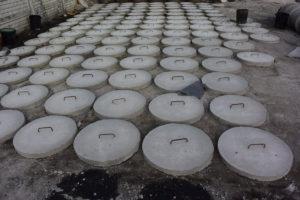 Poklopy na betónové žumpy